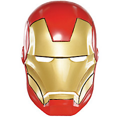 Child Plastic Iron Man Mask