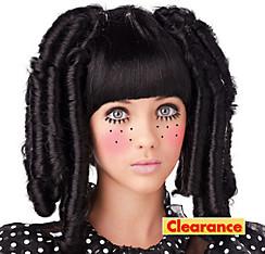 Black Baby Doll Wig