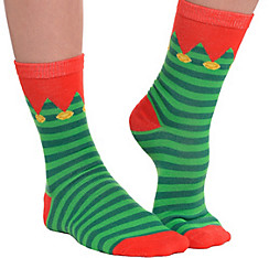 Striped Elf Socks