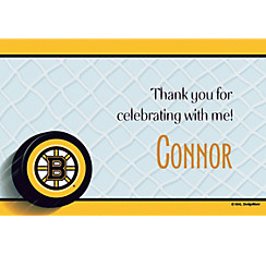 Boston Bruins Custom Thank You Note