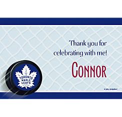 Toronto Maple Leafs Custom Thank You Note