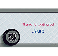 Ice Time Custom Thank You Note