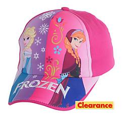 Child Pink Frozen Baseball Hat