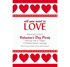 Sweet Love Custom Invitation