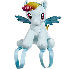 Rainbow Dash Plush Backpack - My Little Pony