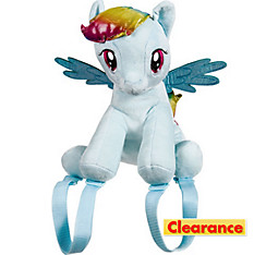 Rainbow Dash Plush Backpack - My Little Pony