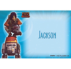 Star Wars Rebels Custom Thank You Note