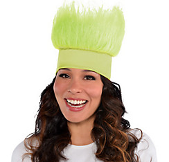 Neon Green Crazy Hair Headband