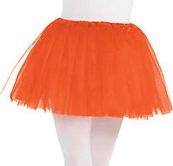 Child Orange Tutu