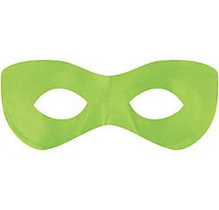 Neon Green Domino Mask