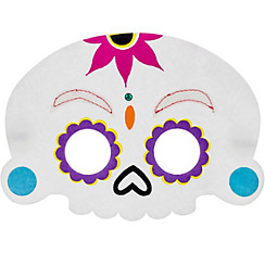 Child Sugar Skull Eye Mask - Day of the Dead