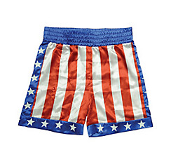 Apollo Creed American Flag Shorts - Rocky