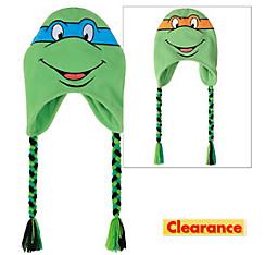 Leonardo & Michelangelo Reversible Peruvian Hat - Teenage Mutant Ninja Turtles