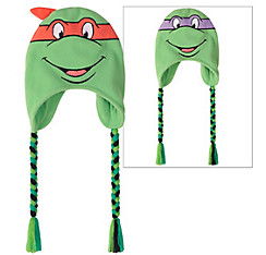 Raphael & Donatello Reversible Peruvian Hat - Teenage Mutant Ninja Turtles