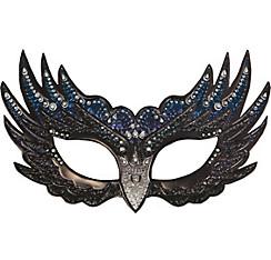 Sparkle Raven Masquerade Mask