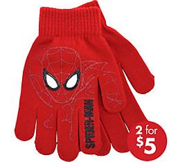 Child Red Spider-Man Gloves
