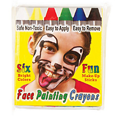 Essential Face Paint Crayons 6ct