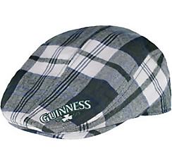 Plaid Guinness Flat Cap
