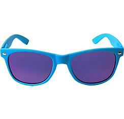 Bright Blue Mirrored Sunglasses
