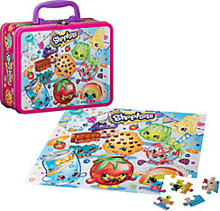 Shopkins Puzzle Lunch Box 100pc