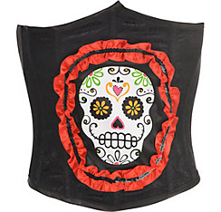 Sugar Skull Waist Cincher - Day of the Dead