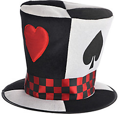 Poker Card Top Hat