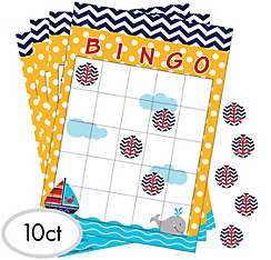 Ahoy Nautical Bingo Game