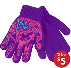Child Mal Gloves - Disney Descendants