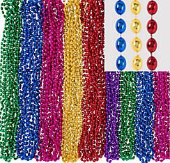 Multicolor Bead Necklaces 24ct