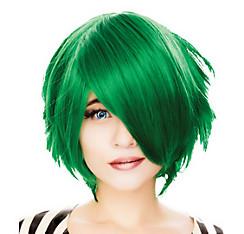 Short Green Cosplay Wig
