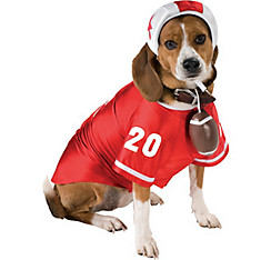 Football Player Dog Costume