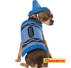 Blue Crayola Crayon Dog Costume