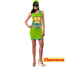 Adult Leonardo Hoodie Dress - Teenage Mutant Ninja Turtles