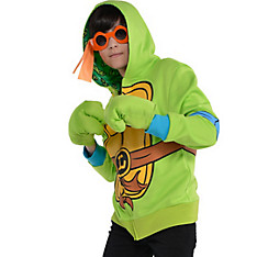 Child Leonardo Zip-Up Hoodie - Teenage Mutant Ninja Turtles