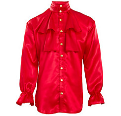Red Captain Pirate Shirt