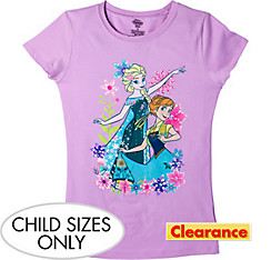 Child Anna & Elsa T-Shirt - Frozen Fever
