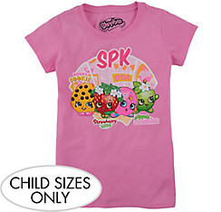 Child Pink Shopkins T-Shirt