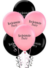 Bachelorette Party Latex Balloons 6ct