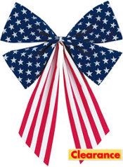 Fabric Flag Bow
