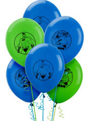 Batman Balloons 6ct