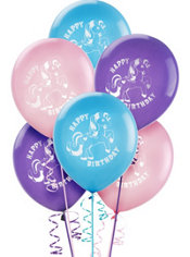Latex My Little Pony Happy Birthday Balloons 12in 6ct