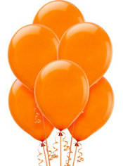 Orange Peel Latex Balloons 12in 72ct