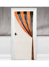 Halloween Fringe Doorway Curtain 96in
