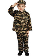 Military Soldier Toddler Boy Costume