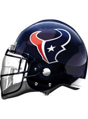 Houston Texans Helmet Foil Balloon 26in