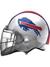 Buffalo Bills Helmet Foil Balloon 26in