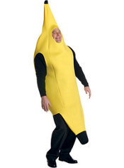 Adult Banana Costume Plus Size