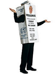 Milk Carton Costume Adult