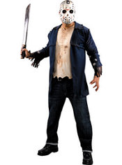 Adult Jason Costume Deluxe - Friday the 13th