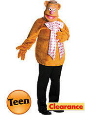 Teen Boys Fozzie Bear Costume - The Muppets